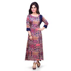 Vedika Creations Indian Designer Top Tunic Kurti Kurta (Code- VCDUWCKTT -51)