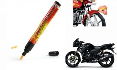 Spidy Moto Auto Smart Coat Paint Scratch Repair Remover Touch Up Pen For Tvs Apache Rtr