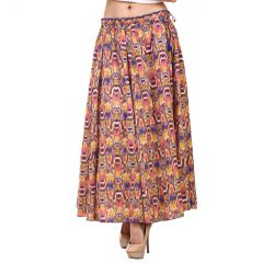 Hive91 Printed Women A-line Multicolor Skirt (Code - RH20SKMC)