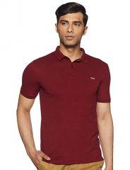 Ajeraa Men's Polo Collar T-shirt ( Code - Polo_tshirts )