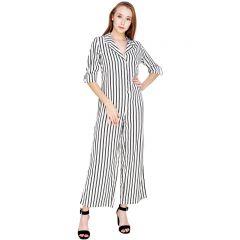 587e7d338bb Buy Miss Chase Black Polyester Crepe Let It Linger Jumpsuit Online ...