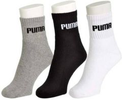 Puma Pack Of 3 Pair Towel Socks