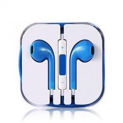 Apple iPhone Handsfree With Remote And Mic (blue)