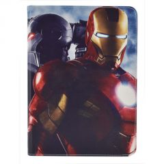 "iPad 1/2 9.7"" Cases & Covers - Iron Man PU Leather Flip Stand Case Cover"