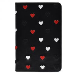 iPad Mini Cases & Covers - Luxury Heart Shape Leather Flip Stand Case Cover