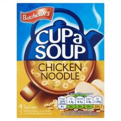 Batchelors Cup a Soup Chicken Noodle (4 Sachets) - 94g