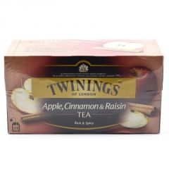 Twinnings Apple, Cinnamon & Raisin Tea, 25 Tea Bags - 50g