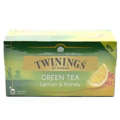 Twinnings Green Tea & Lemon & Honey, 25 Tea Bags - 40g