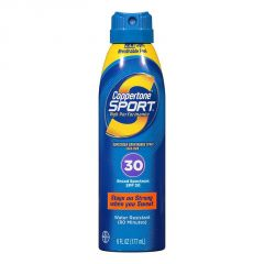 Coppertone Sport High Perfomance Sunscreen Continous Spray,SPF 30 - 222ml(7.5oz)