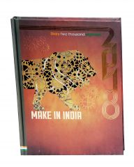 Indigo Creatives Make In India Patriotic theme 2018 Business Diary Planner