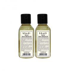 Khadi Herbal Sweet Almond Oil - 100ml (Set of 2)