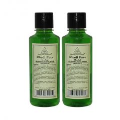 Khadi Pure Herbal Aloevera Face Wash - 210ml (Set of 2)
