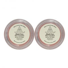 Khadi Pure Herbal Wine Grape Fruit Lip Balm - 10g (Set of 2)