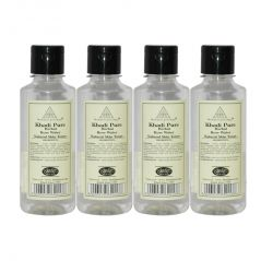 Khadi Pure Herbal Rose Water - 210ml (Set of 4)