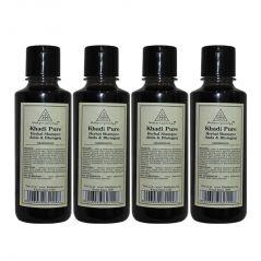 Khadi Pure Herbal Amla Bhringraj Shampoo 210ml Set Of
