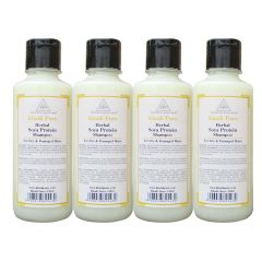 Khadi Pure Herbal Soya Protein Shampoo - 210ml (Set of 4)
