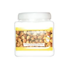 Indrani Almond Nourishing Massage cream with Vitamin-E Oil-1KG