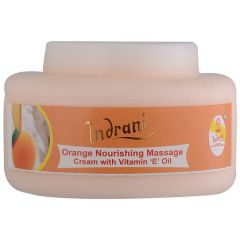 Indrani Orange Nourishing Massage cream with Vitamin-E Oil-200GM