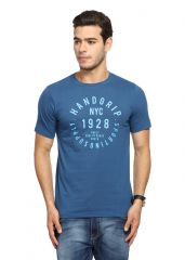 Handgrip Dark Blue Graphic Men's Tshirt (Code - GRN001-DARKBLUE)