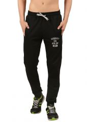 Handgrip Black Solid Men's Track Pants