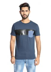 Handgrip Moonlight Ocean Pocket Styling men's Tshirt