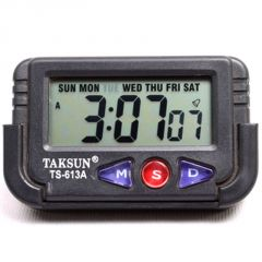 Digital LCD Alarm Table Desk Car Calendar Clock Timer Stopwatch - A03