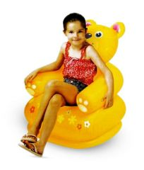 Intex Happy Teddy Bear Shape Chair For kids