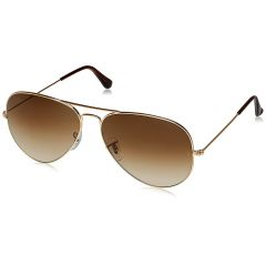 Mways Aviator Unisex Sunglasses (Brown)