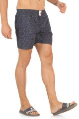 Mr. Stag Men's Navy Blue Cotton Printed Boxer (code - Boxer 001) - Winter Store