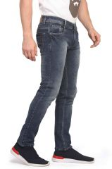 Mr.Stag Men's Distressed Blue Denim Jeans (Code - JEANS NG001)