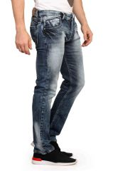 Mr. Stag Men's Cello Blue Denim Jeans (Code - JEANS NJ002)