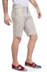 Mr. Stag Men's Occur Printed Cotton Shorts (Code - SHORTS NG007)