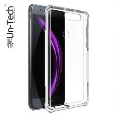 Un-Tech Honor 7c Transparent Mobile Back Cover Case with TPU Corner Protection Phone Cases