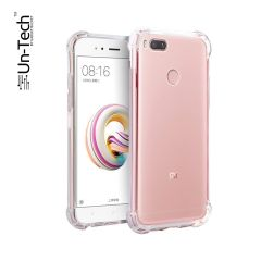 Un-Tech Redmi_A1 Transparent Mobile Back Cover Case with TPU Corner Protection Phone Cases