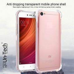 Un-Tech Redmi_Y1 Transparent Mobile Back Cover Case with TPU Corner Protection
