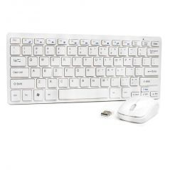 efc487a1733 UnTech Mini Slim Silent Wireless 2.4GHz Portable Keyboard & Mouse Set w/USB  Bluetooth