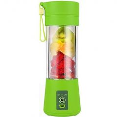 Portable USB Electric Blender Juice Cup Juicer For Fruits And Vegetables (Multicolour)