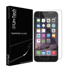 UnTech Mobile Tempered Glass Screen Protector for iPhone 7 with Installation Kit