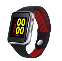 UnTech M3 Smart Watch Touch Screen Bluetooth with Sim Card Slot/Memory Card Slot (Red)