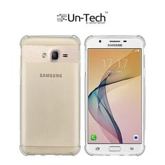 UnTech Samsung On 5 Pro Transparent Mobile Phone Back Cover Case with TPU Corner Protection