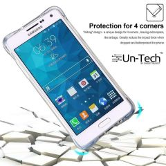 Un-Tech Samsung C9 Pro Transparent Mobile Phone Back Cover Case with TPU Corner Protection Phone Cover