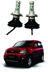 Trigcars Mahindra NuvaSport Car Glass Led Head Light