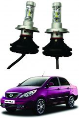 Trigcars Tata Manza Car Glass Led Head Light