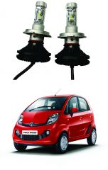 Trigcars Tata Nano Car Glass Led Head Light
