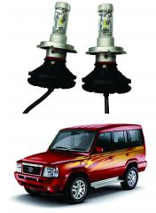 Trigcars Tata Sumo Gold Car Glass Led Head Light