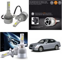 Trigcars Hyundai Sonata Old Car LED HID Head Light
