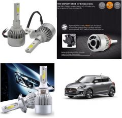 Trigcars Maruti Suzuki Swift 2017 Car LED HID Head Light