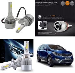 Trigcars Tata Hexa Car LED HID Head Light