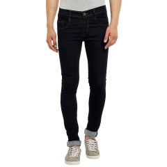 Waiverson Slim Fit Black Men's Multicolor Jeans (Code - DP-DNM-BLK-1006)