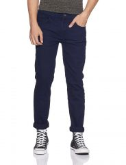 Waiverson Dark Blue Slim Fit  Men's Multicolor Jeans (Code - DP-DNM-DB-1008)